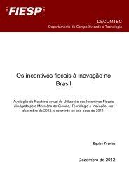 Os incentivos fiscais à inovação no Brasil - PAC-PME