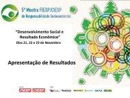 Desenvolvimento Social e Resultado Econômico - Fiesp