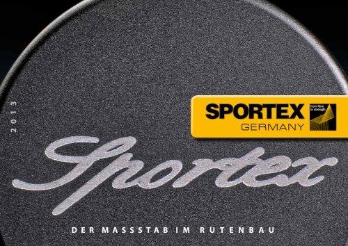Sportex - Der Massstab im Rutenbau