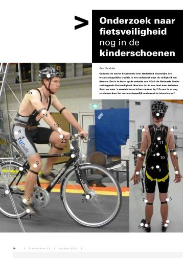 Onderzoek naar fietsveiligheid nog in de ... - Fietsberaad
