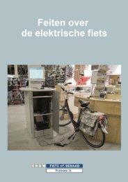 Feiten over de elektrische fiets - Fietsberaad