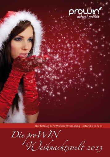 Die proWIN Weihnachtswelt 2013