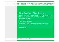 Slim Werken Slim Reizen - Fietsberaad