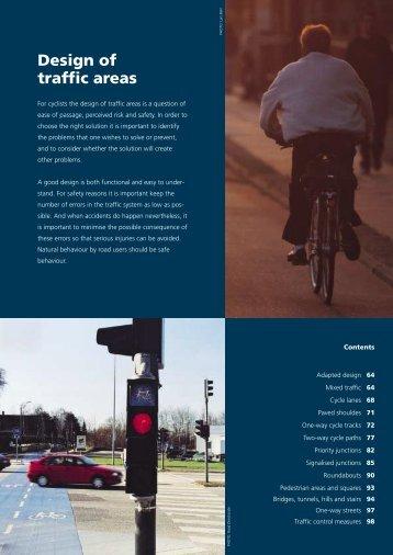 Design of traffic areas - Fietsberaad