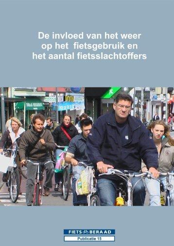 De invloed van het weer op het fietsgebruik en het ... - Fietsberaad
