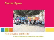 Shared Space Final Evaluation and Results It takes ... - Fietsberaad