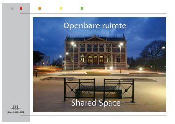 Openbare ruimte Shared Space - Fietsberaad