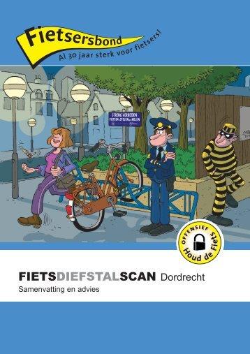 Fietsdiefstalscan Dordrecht samenvatting en advies - Fietsberaad