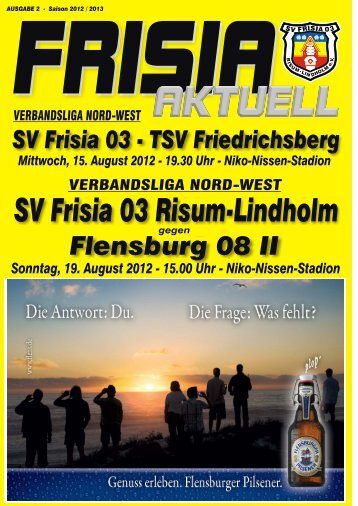 Nr. 2 - SV Frisia 03 Risum-Lindholm eV