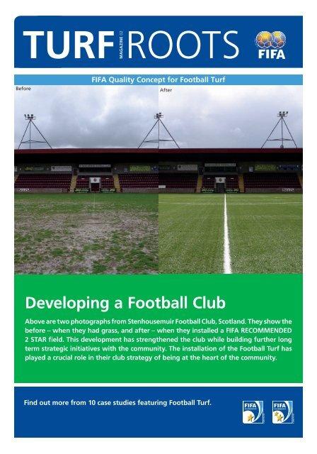 Developing a Football Club - MyFootballClub