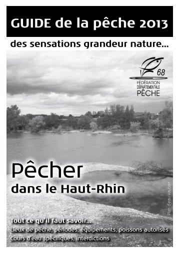 Angelbestimmungen Frankeich Elsass 2013