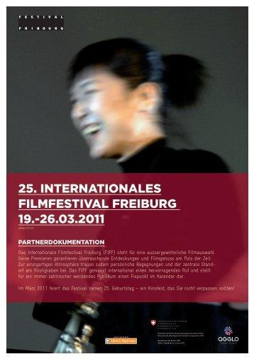 25. INTERNATIONAlEs FIlMFEsTIvAl FREIbURg 19.-26.03.2011