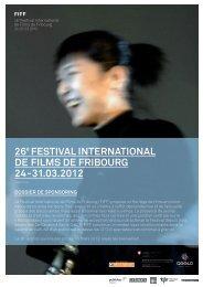 26 FEStIval INtERNatIONal DE FIlmS DE FRIbOuRG 24-31.03.2012