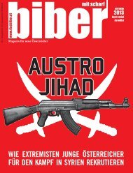 Magazin: das biber - November 2013