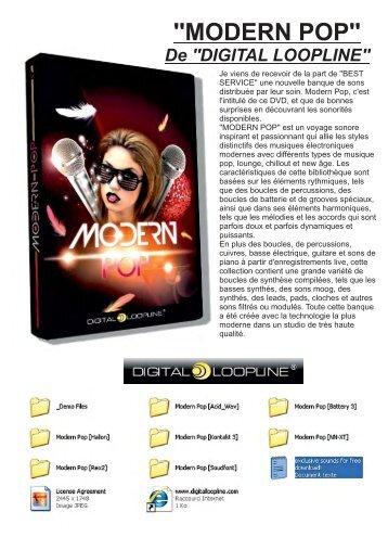 MODERN POP MISE EN PAGE pour ... - Nushock Music