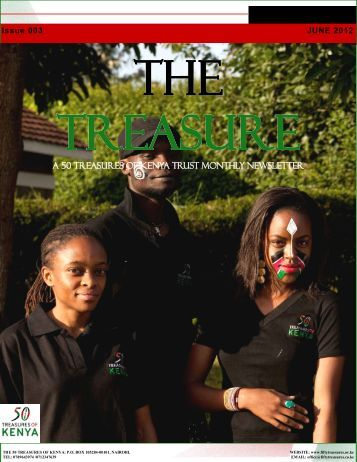 The Treasure Newsletter Issue 3 - 50 Treasures of Kenya