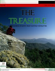 The Treasure Newsletter Issue 2 - 50 Treasures of Kenya
