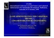 Conference Presentation - FIG