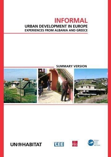 Informal Urban Development in Europe - FIG