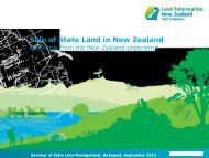 Disposal of Land in New Zealand Presentation - FIG