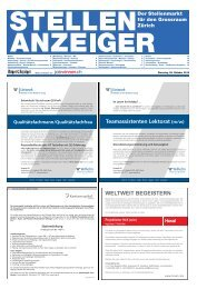 Teamassistenten Lektorat (m/w) - Tagesanzeiger e-paper - Tages ...
