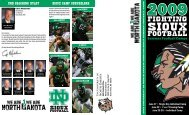 fightiNg - University of North Dakota Athletics