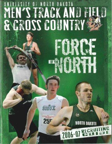 2006 meet results - University of North Dakota Athletics