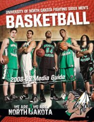 2008-09 opponents - University of North Dakota Athletics