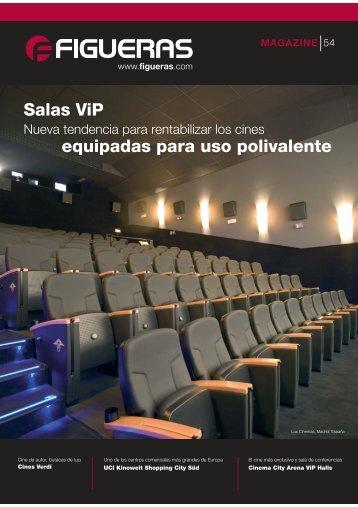 Salas ViP equipadas para uso polivalente - Figueras