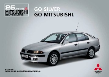 GO SILVER. GO MITSUBISHI. - Autohaus Kolbeck
