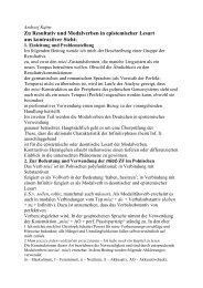 Zu Resultativ und Modalverben in epistemischer Lesart aus ...