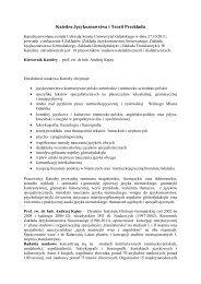Wojna Program Poprawiony Uniwersytet Gdański