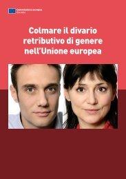 Colmare il divario retributivo di genere nell'Unione europea - Filcams