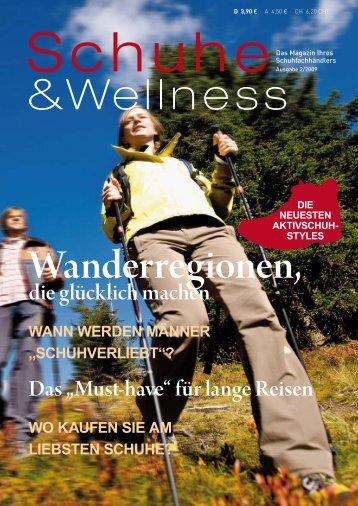 Zeitschrift lesen... - Gesunde Schuhe