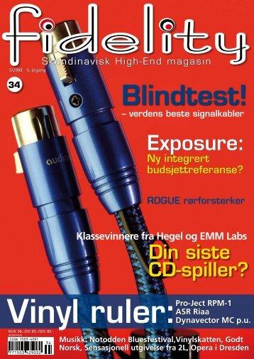 Skandinavisk High-End magasin - Fidelity