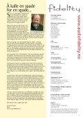 Skandinavisk High-End magasin - Fidelity - Page 2