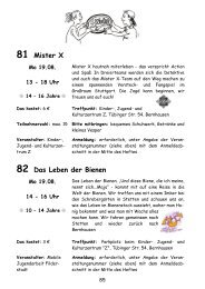 55 Flughafenführung 56 Jazz für Kids - Stadt Filderstadt