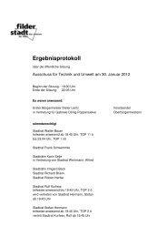 Ausschuss für Technik und Umwelt - Stadt Filderstadt