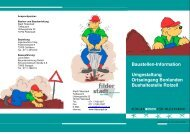 Baustellen-Information Umgestaltung Ortseingang ... - Stadt Filderstadt