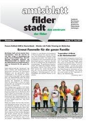 Publ filderstadt Issue kw24 Page 1 - Stadt Filderstadt