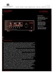 Der Graaf GM-50 Vollverstärker nutzt einen ganz ... - Audio Reference