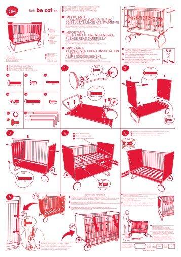 notice de montage du lit rond file dans ta chambre. Black Bedroom Furniture Sets. Home Design Ideas