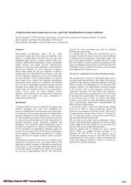 A hydrocarbon microtremor survey over a gas field: Identification of ...