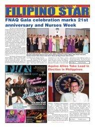 May 2013 Edition - Filipino Star