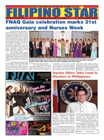 May 2013 Edition - Filipino Star