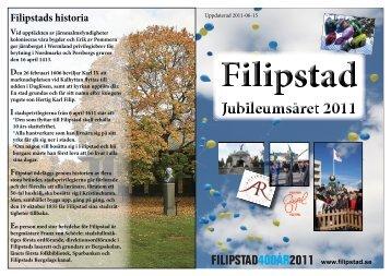 programblad - Filipstad