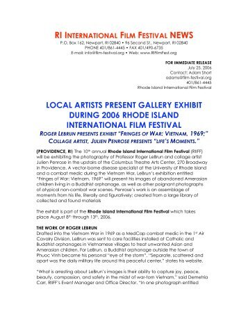 Gallery Exhibition by Roger LeBrun and Julian Penrose