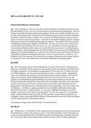 Zum Artikel als PDF - Hans-Ulrich Schlumpf
