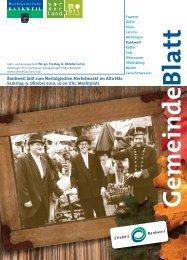 Rankweil lädt zum Nostalgischen Herbstmarkt im Alta Häs. Samstag ...