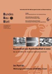 Bundes Bau Blatt - BIC Brandschutz Ingenieurbau Consult Gmbh